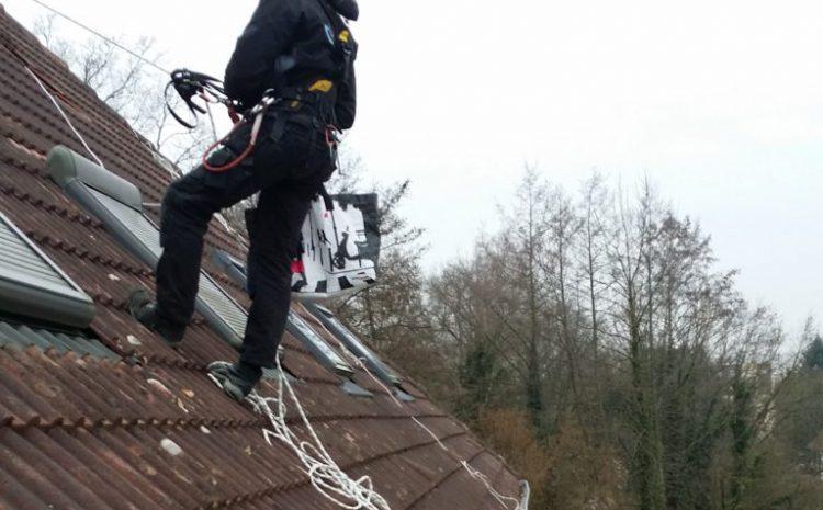 Travaux sur toiture